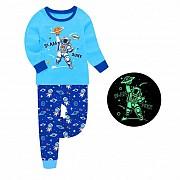 Пижама для мальчика Астронавт Синяя Одесса