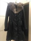 Кожаное зимнее пальто Одесса